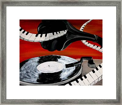 See The Song Framed Print