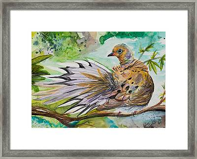 See You In The Mourning  Framed Print by Sydney Gregory