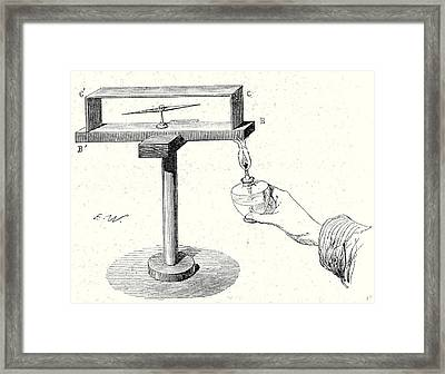 Seebecks Experiment Framed Print by English School