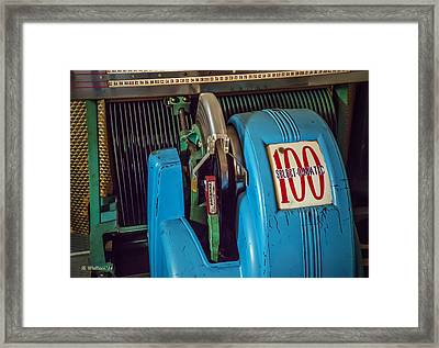 Seeburg Select-o-matic Jukebox Framed Print by Brian Wallace