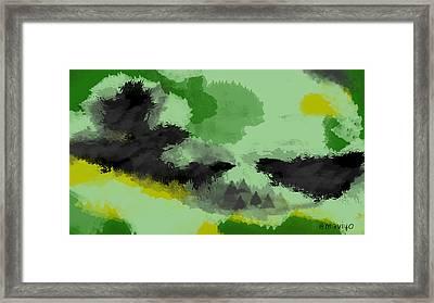Seed Harvest Framed Print