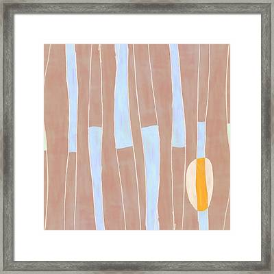 Seed Of Learning No. 3 Framed Print by Carol Leigh