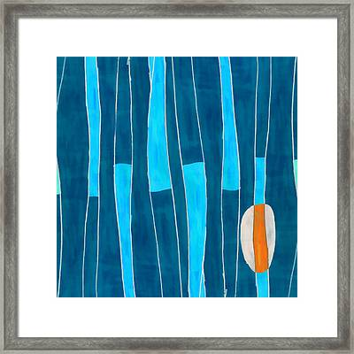 Seed Of Learning No. 5 Framed Print by Carol Leigh