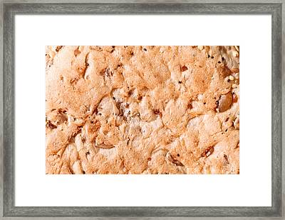 Seeded Bread Framed Print by Tom Gowanlock