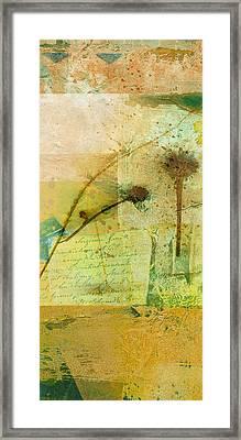 Seeds Collage Framed Print