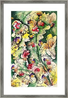 Seeds Of Creation Framed Print