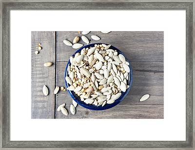 Seeds Framed Print by Tom Gowanlock
