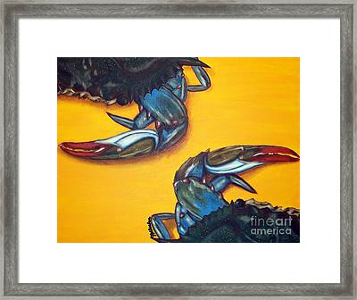 Seeing Double Framed Print by JoAnn Wheeler
