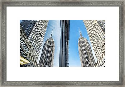 Seeing Double Framed Print by Nishanth Gopinathan