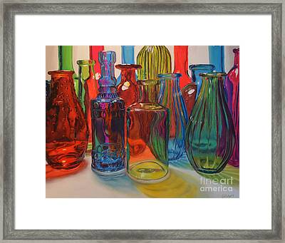 Seeing Glass Framed Print