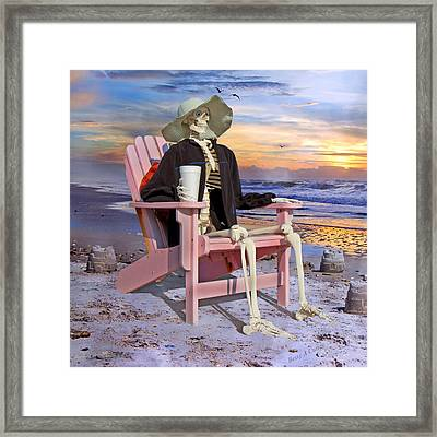 Seeing Is Believing  Framed Print by Betsy Knapp