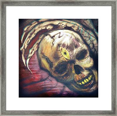 Seeing Is Believing Framed Print by Ryno Worm  Tattoos