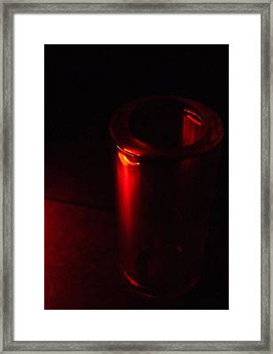 Seeing Red Framed Print by Everett Bowers