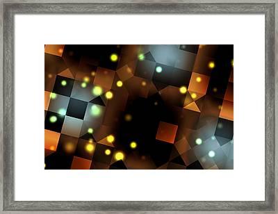 Seeing Spots Framed Print
