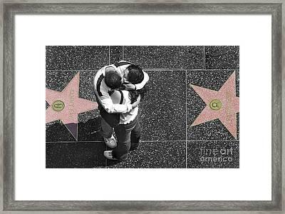 Seeing Stars Framed Print by Dan Holm