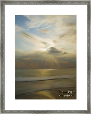 Seek And You Shall Find Framed Print