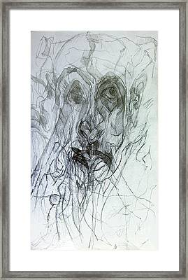 Seeker Being Sought Framed Print