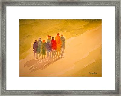 Seekers I Framed Print