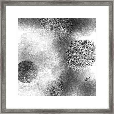Seeking Definition Framed Print by Mathilde Vhargon