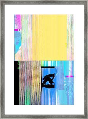 Seeking Encounter Number Nine Digital Art By Maria Lankina Framed Print