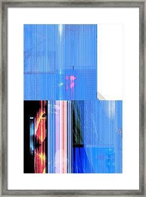 Seeking Encounter Number Seven Digital Art By Maria Lankina Framed Print
