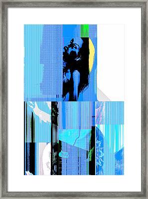 Seeking Encounter Number Six Digital Art By Maria Lankina Framed Print