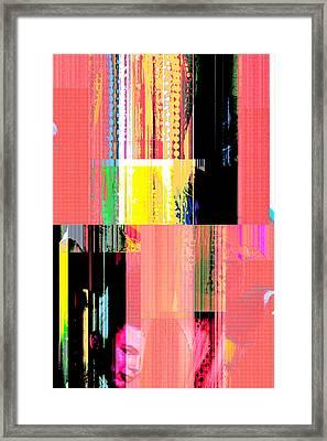 Seeking Encounter Number Ten Digital Art By Maria Lankina Framed Print