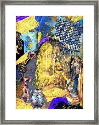 Seeking Framed Print by Gail Kirtz
