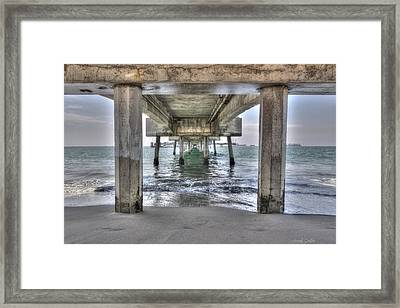 Seeking Shelter From The Sun Framed Print by Heidi Smith