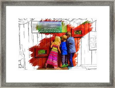 Seeking Songbirds Framed Print