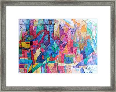 Seeking The Path To The Next World 1 Framed Print