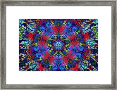 Seeking The Source Framed Print by Peggy Collins
