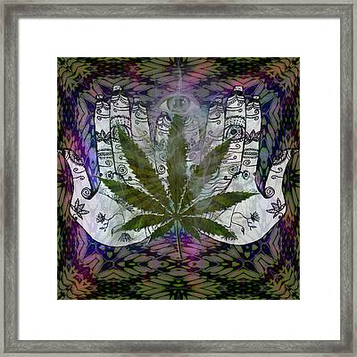 Seeking The Third Eye Framed Print