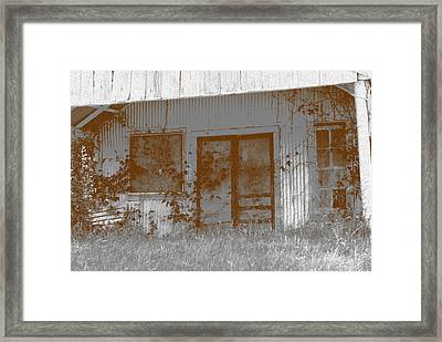 Seen Better Days Framed Print by Connie Fox
