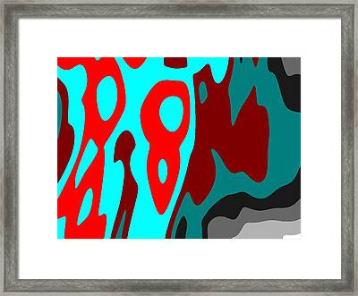 Framed Print featuring the digital art Seen Differently by Jeff Iverson