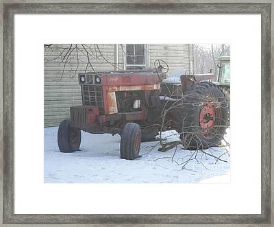 It Has Seen Its Day Framed Print by Carol Wisniewski
