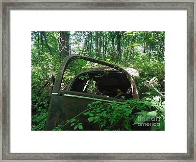 Seen My Last Days Framed Print by Linda Walker
