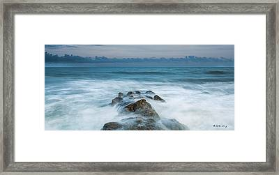 Seeping In Framed Print by Bill Cantey