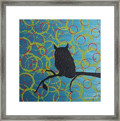 Framed Print featuring the painting Seer by Jacqueline McReynolds