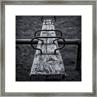 Seesaw Framed Print by Rscpics