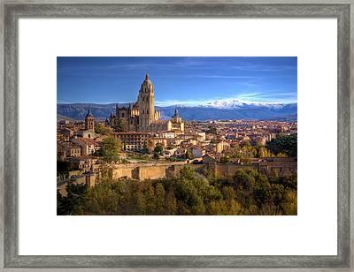 Segovia From The Alcazar Framed Print