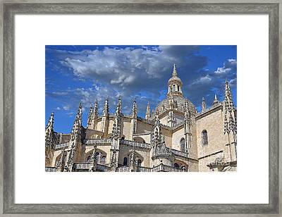 Segovia Gothic Cathedral Framed Print