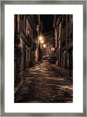 Segovia Predawn Framed Print by Joan Carroll