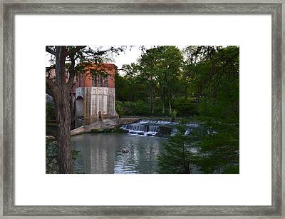 Seguin Tx 03 Framed Print by Shawn Marlow