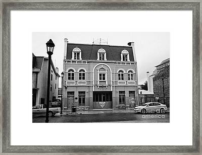 segunda compania de bomberos bomba chile 2nd fire station Punta Arenas Chile Framed Print by Joe Fox