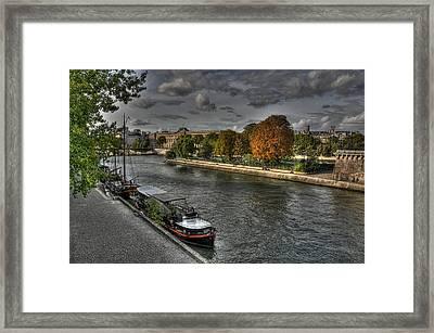 Seine Study Number One Framed Print