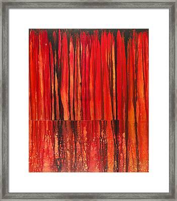 Seismic Framed Print