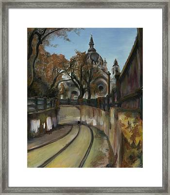 Selby Tunnel Framed Print by Grace Hasbargen