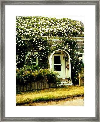 Seldom Inn Framed Print by Desiree Paquette