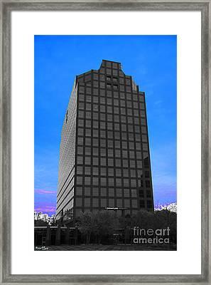 Selective Color Hi Rise Framed Print by Bill Woodstock